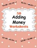 Adding Money Worksheets