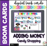 Adding Money| Boom Cards |Distance Learning