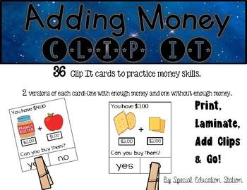 Adding Money Clip It