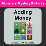 Adding Money - Color-By-Number Mystery Pictures