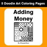 Adding Money - Coloring Pages | Doodle Art Math