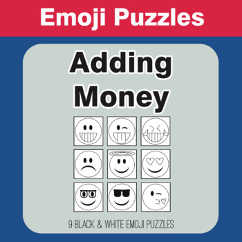 Adding Money - Emoji Picture Puzzles