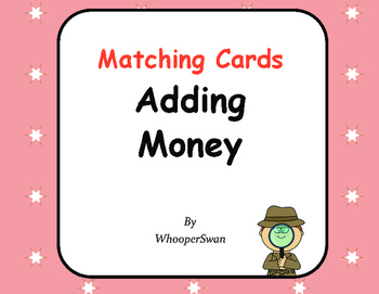 Adding Money Matching Cards