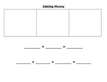 Adding Money Organizer