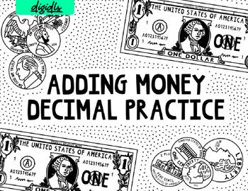 Adding Money - Practice with decimals