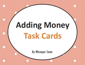 Adding Money Task Cards