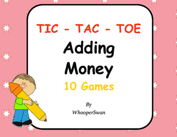 Adding Money Tic-Tac-Toe