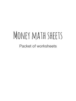 Adding Money Values (4 digit with decimals) with regroupin
