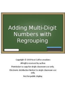 Adding Multi-Digit Numbers with Regrouping