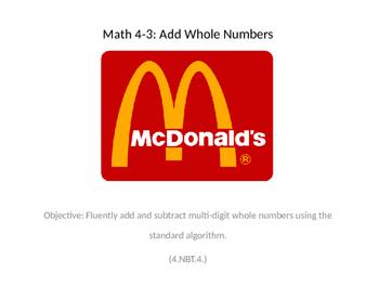 Adding Multiple 2-3 Digit Numbers