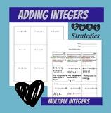 Adding Multiple Integers