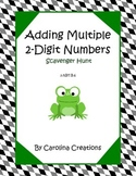 Adding Multiple Two Digit Numbers - Second Grade Common Co