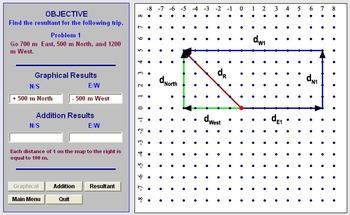 Physics - Adding Multiple Vectors Software & Handouts