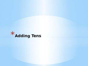 Adding Multiple of Tens iRespond