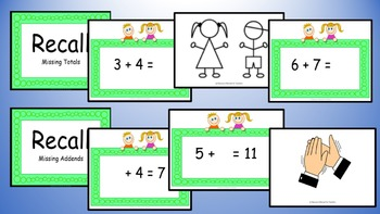 Adding Near Doubles Mental Maths Addition Game, Brain Break or Maths Warm Up