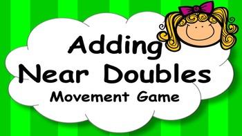 Adding Near Doubles Mental Maths Addition Game, Brain Brea