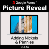 Adding Nickels & Pennies - Google Forms Math Game | Distan