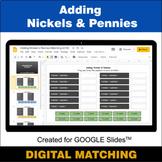 Adding Nickels & Pennies - Google Slides - Distance Learni