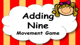 Adding Nine Addition Facts Mental Maths Game, Brain Break or Maths Warm Up