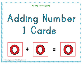 Adding Number 1 Cards