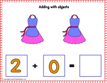 Adding Number 2 Cards (Common Core)