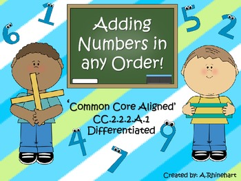Adding Numbers in any Order