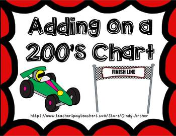 Adding Numbers on a 200's chart