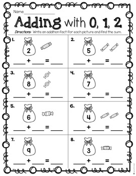 Adding On with 0, 1, 2 ~ Addition Facts to 12