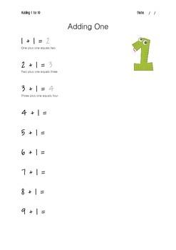 Adding One to Ten