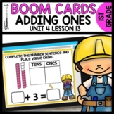Adding Ones BOOM CARDS | DIGITAL TASK CARDS | Module 4 Lesson 13