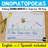 Adding Onomatopoeias: Writing with Sound Words
