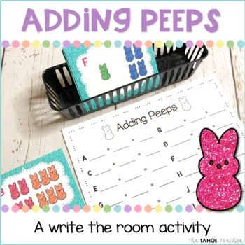 Adding Peeps Write the Room