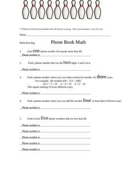 Adding Phone book math Extension