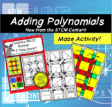 Adding Polynomials Maze Runner Game