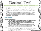 Adding Positive and Negative Decimals Trail A (uses numbers -10.0 to +10.0)