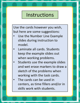 Adding Positive and Negative Integers Task Cards - Advanced Level