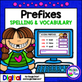 Adding Prefixes Activity for Google Drive and Google Classroom