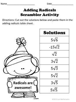 Adding Radicals