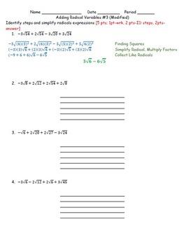 Adding Radicals #3 (HSN.RN.A.1)