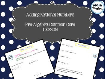 Adding Rational Numbers