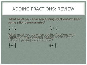 Adding Rational Numbers (Same Sign)