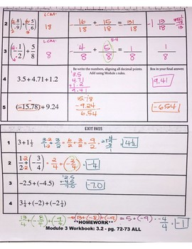 Adding Rational Numbers pt 1