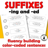 {adding SUFFIXES} {Inflectional endings} {dyslexia WORKSHEETS}