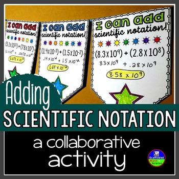 Adding Scientific Notation Pennant