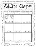 Adding Shapes {Worksheet}