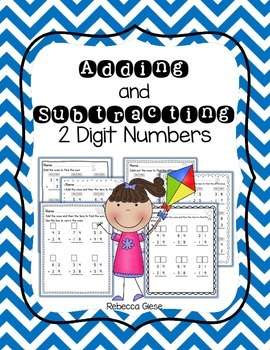 Adding & Subtracting 2 Digit Numbers