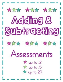 Adding & Subtracting Assessment