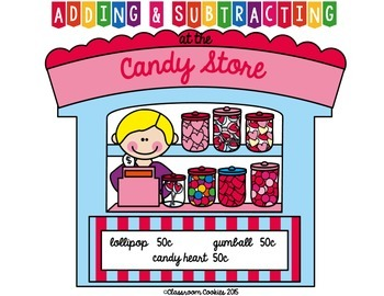 Adding & Subtracting At The Candy Story Game—Add & Sub 2 & 3 Digit Numbers