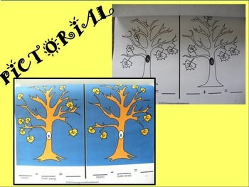 #BTS PREPRINTED Adding & Subtracting Autumn Leaves-Concrete-Pictorial-Abstract