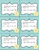 Adding & Subtracting Complex Numbers Task Cards